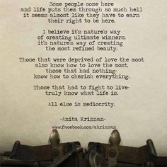 Life .. there is so much more to it than just being able to breathe!