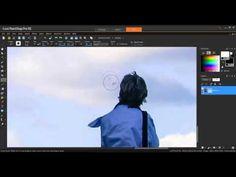 Using the Clone Brush in Corel PaintShop Pro X6 - YouTube