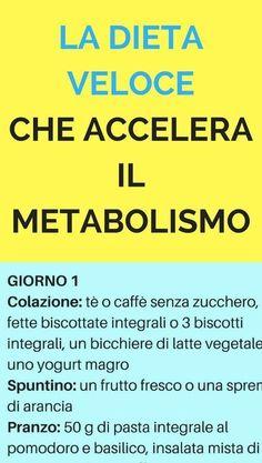 MPOWER/// La dieta veloce che accelera il metabolismo e ti fa perdere 6 kg in poco tempo