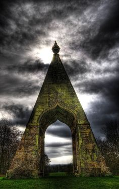 The Needle's Eye is one of several follies in the grounds of Wentworth Woodhouse, Wentworth, South Yorkshire, England