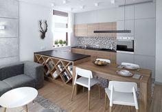 Arbeitsplatten für die Küche: 50 Ideen für Material und Farbe