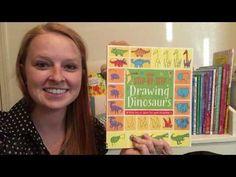 Usborne Step by Step Drawing Dinosaurs - YouTube Usbornebookbattalion.com Find me on Facebook, youtube, & instagram @usbornebookbattalion