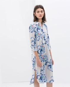 Printed Tunic by Zara