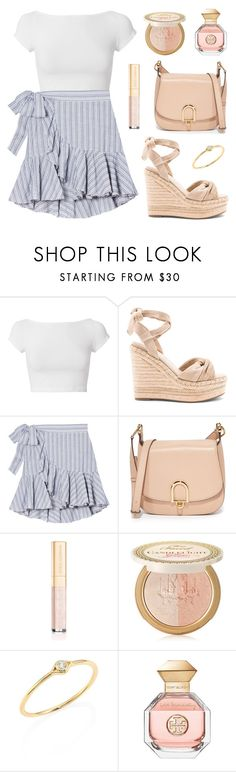 """""""It's the Weekend Baby"""" by tasha-m-e ❤ liked on Polyvore featuring Helmut Lang, Kendall + Kylie, MICHAEL Michael Kors, Dolce&Gabbana, Too Faced Cosmetics, Sydney Evan and Tory Burch"""