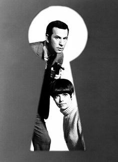 Don Adams as Maxwell Smart Agent 86 and Barbara Feldon as Agent 99 - TV series, 'Get Smart', 1965-1970.  I named my son Maxwell because this show was my favorite.