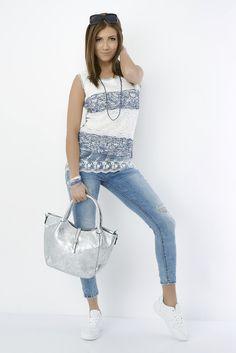 Eros Collection printemps/été 2015 #EROSCOLLECTION #PP15 #SS15 #blue #jeans #style #fresh #spring #printemps #noemiehappart