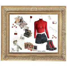 Fashion set artsy type created via Leather Ankle Boots, Artsy, Fashion Looks, Type, Outfits, Shopping, Clothes, Leather Booties, Suits