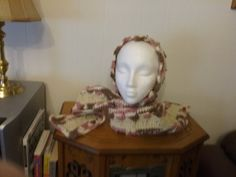 New one of a kind hand with attached scarf by grandmajeannes