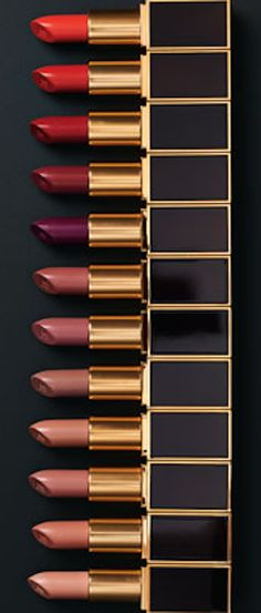 Tom Ford Beauty's Limited Edition 12 Piece Lipstick Set – Musings of a Muse Tom Ford Lipstick, Tom Ford Makeup, All Things Beauty, Beauty Make Up, Lipstick Colors, Lip Colors, Lipstick Sets, Purple Lipstick, Mac Lipsticks