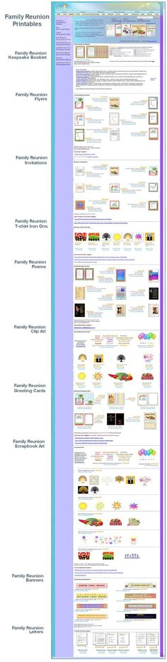 Family Tree Archives - all-things-family-reunion Recipes to Cook - family reunion templates