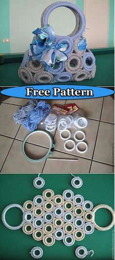 Easy and reliable crochet free patterns – DIY Rustics – Crochet Bag İdeas. Crochet Ring Patterns, Crochet Rings, Crochet Clutch, Crochet Handbags, Crochet Purses, Crochet Designs, Crochet Stitches, Knitting Patterns, Unique Crochet
