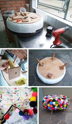 DIY: 14 Ideas de Proyectos DIY usando Pompones – Te regalo una idea