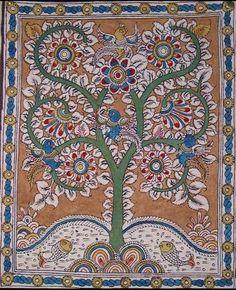 Indian Painting Styles...Kalamkari Paintings (Andhra Pradesh)-tree-of7.jpg
