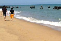 Rocky beach - Pondicherry