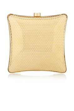 Stella McCartney gold mini clutch