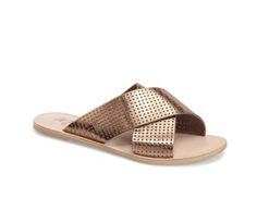 c6f97f33c Destin Perforated Slide Sandal Boot Shop