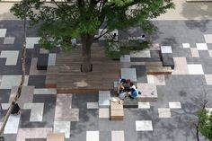 Works / Teikyo Heisei University Nakano campus Landscape Design - オンサイト計画設計事務所