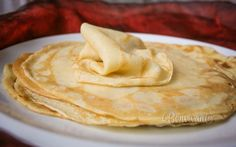 Palacinky Slovak Recipes, Czech Recipes, Russian Recipes, Ethnic Recipes, What You Eat, Peanut Butter, Recipies, Lunch, Breakfast