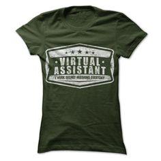 Virtual Assistants Work Secret Missions T Shirts, Hoodie Sweatshirts