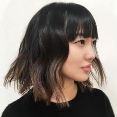 The Top 5 Spring Hair Trends To Take L.A. #refinery29  http://www.refinery29.com/la-hair-stylist-spring-trends-2016#slide-1  BangsStylist: Liz SustaitaSalon: Ramirez|TranWhat To Ask For: A classic bob with long layers and bangsSustaita knows what hair trends are coming next. Take one ...