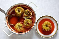 Gefüllte Paprika, einfach, schlicht und ohne viel Aufwand         |          ziiikocht Sprouts, Lunch, Vegetables, Eat, Cooking, Food, Bon Appetit, Meat, Unstuffed Peppers