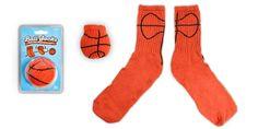Ball Socks : Roll your socks into footballs, baseballs...