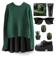 """""""""""🥗"""" by credendovides ❤ liked on Polyvore featuring Ray-Ban and Rodial"""
