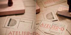 Laser cut wooden business cards #lasercut