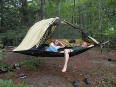 (Hammock Camping Hacks)
