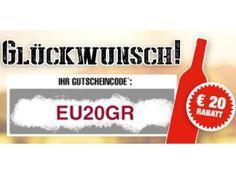 Weinversand: 20 Euro Rabatt ab 40 Euro Warenwert bis Samstag https://www.discountfan.de/artikel/essen_und_trinken/weinversand-20-euro-rabatt-ab-40-euro-warenwert-bis-samstag.php Ab sofort und nur bis Samstag gibt es bei Weinversand einen Rabatt von 20 Euro ab 40 Euro Bestellwert – einlösbar ist der Gutschein für Neu- und Bestandskunden. Im Idealfall sichern sich Discountfans so sechs Flaschen Rotwein für 27,89 Euro frei Haus. Weinversand: 20 Euro Rabatt ab 40 Euro