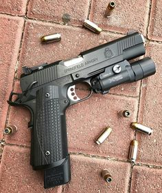Want to load your magazines faster and easier without wearing out your thumbs? RAE Industries is your HERO! Get yours now and experience loading magazines without pain. Tactical Pistol, Tactical Shotgun, 1911 Pistol, Weapons Guns, Guns And Ammo, Springfield 1911, Springfield Operator, Gun Vault, Shooting Guns