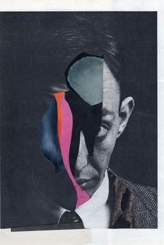 """Charles Wilkin; Paper, 2013, Assemblage / Collage """"Fleeting At Best"""""""