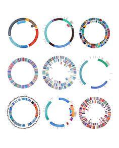 Plasmids, DNA art, Science art, watercolor print, science illustration, microbiology, bacteria, microbes, biology art, DNA, virus, giclee