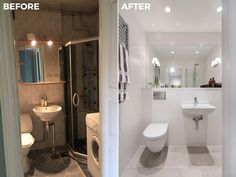 Bathroom | Before & After Malmhattan 1 of 8 @homedoubler  #bathroom #bathroominspo   #bathroominspiration #beforeandafter #malmhattan #malmö #malmo #föreochefter #badrum