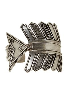 Antiqued Arrow Cuff by House of Harlow on @nordstrom_rack