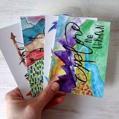 Inspire Adventure Postcards