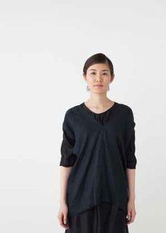Crick & Watson - Solene Pull Over Tunic Tops, V Neck, Women, Fashion, Moda, Fashion Styles, Fashion Illustrations, Woman