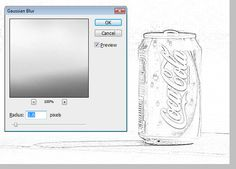 How to change a photo into a pencil line drawing in Photoshop - photoshopbuzz.com | photoshopbuzz.com