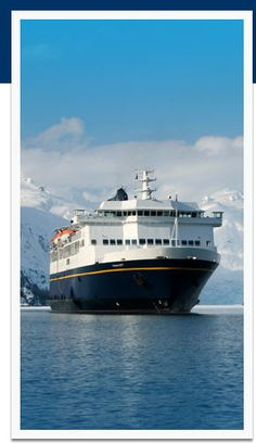 Alaska Marine Highway System. Drive your car onto this ferry and explore Alaska.