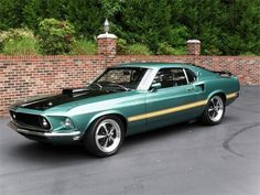 Mach 1 Mustang. Childhood dream car!