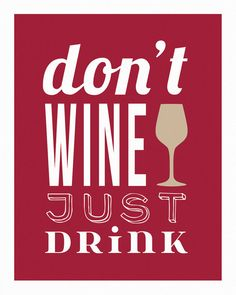 Wine Wall Art Print  Dining Room Typography by DaphneGraphics, $16.00