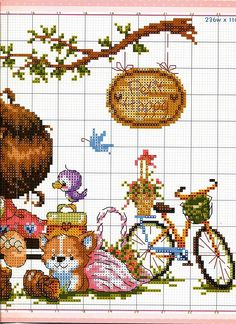Gallery.ru / Фото #12 - SODA - tca-irina. 10-11-12-13 Small Cross Stitch, Cross Stitch For Kids, Cross Stitch Needles, Cute Cross Stitch, Blackwork Cross Stitch, Cross Stitching, Cross Stitch Embroidery, Baby Cross Stitch Patterns, Cross Stitch Charts