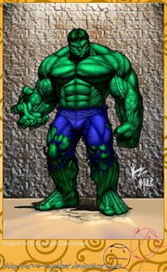 What a Dale Keown Hulk Looks Like... - Page 3