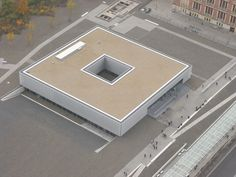 Architect- Peter Zumthor. Project- History Museum The Topography of Terror. Location- Berlin, Germany. Date- 2010