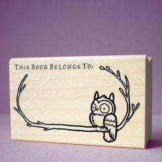 niko art.2011.owlbranch bookplate stamp.ed.jpg (475×475)