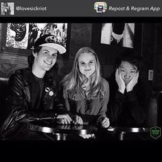 Make sure to follow LoveSick Riot @lovesickriot Great new band that we are very excited about!! #lovesickriot : @therockinryan