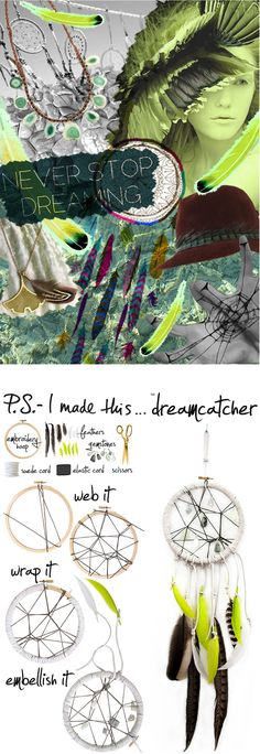 Follow your DIY dreams and add an eclectic inspiring touch to any room. Originating from Native American culture, dreamcatchers are said to ...