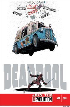 Deadpool #8. Cover by Arthur Adams.