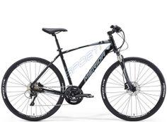 Sporti.pl - Rower 14-06754 Merida CROSSWAY 500 rama 52cm silk black /grey/