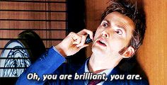 Oh, you are brillant, you are